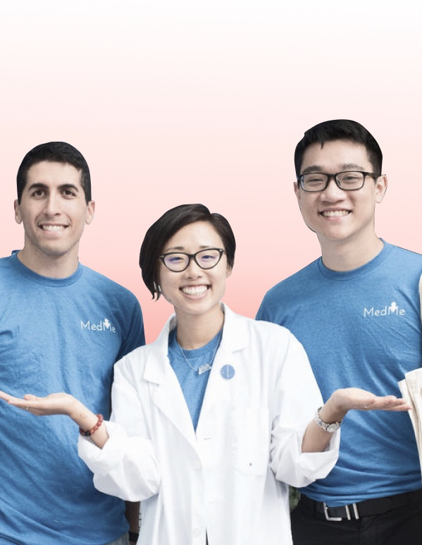 Rui, Purya & Nick of Medme Health