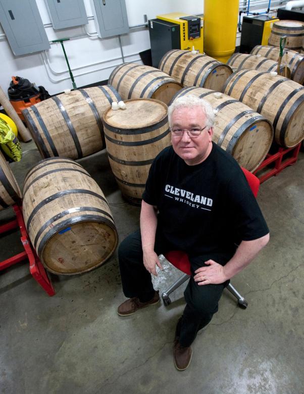 Tom at Cleveland Whiskey